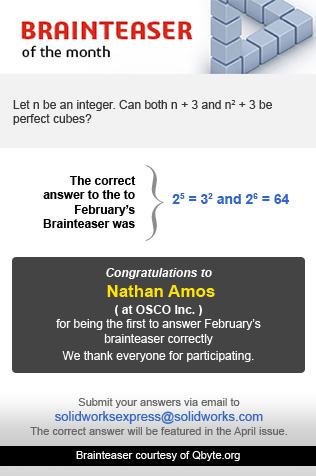 brainteaser of the month